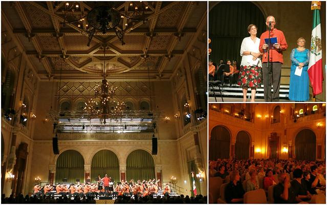 Concierto de la orquesta sinfónica CEDROS Universidad Panamericana