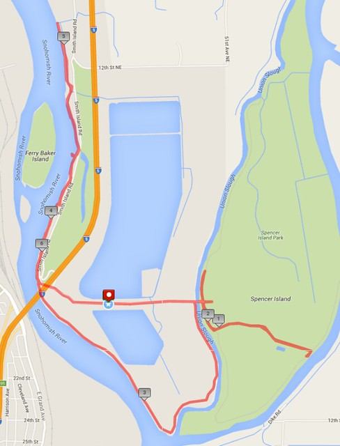 Today's awesome walk, 6.5 miles in 2:25, 15,164 steps
