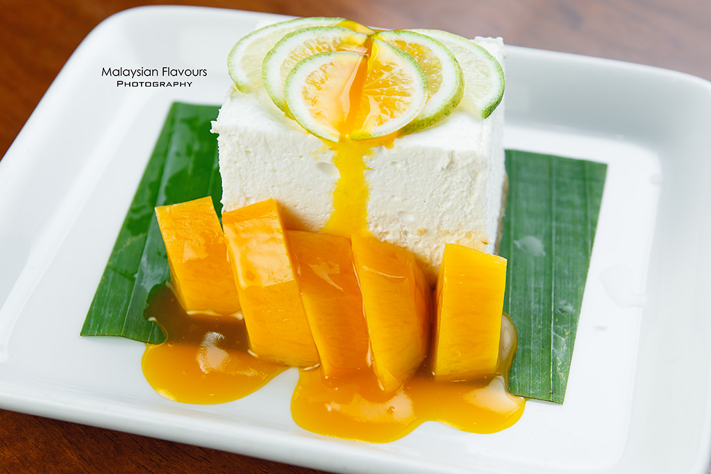 KomPassion Thai lime mango cheese cake
