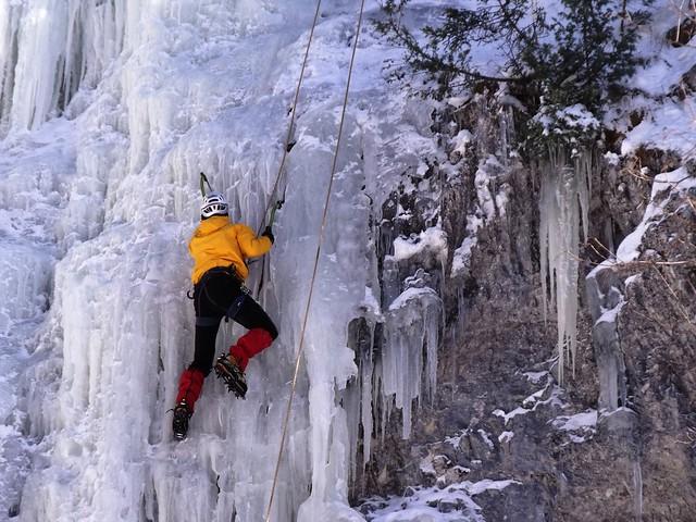 Wegscheider Eisfall