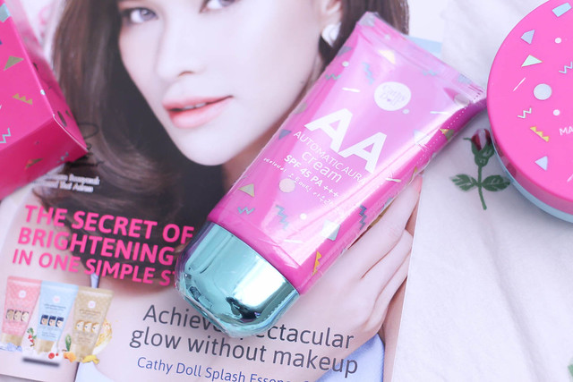 Cathydoll AA series face cream