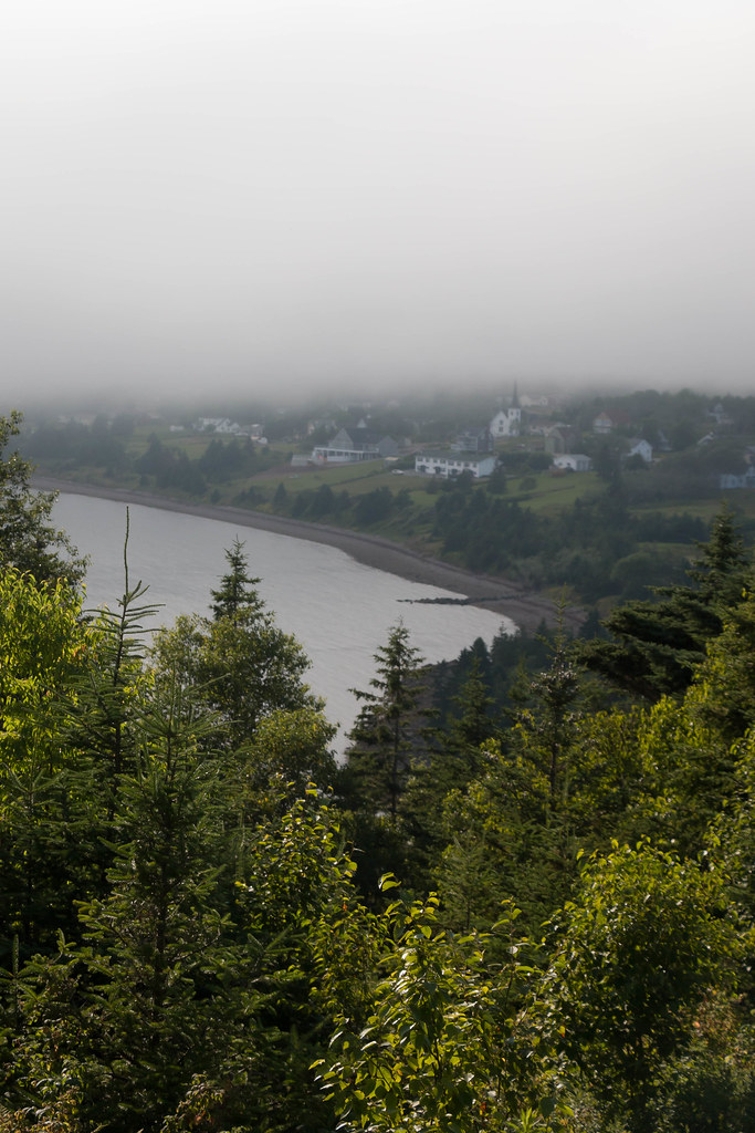 Fog rolling in over the bay–July 25th