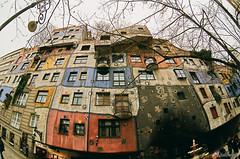 Hundertwasserhaus. Vienna. Austria