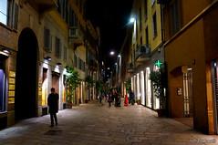 Via Monte Napoleone. Milan. Italy