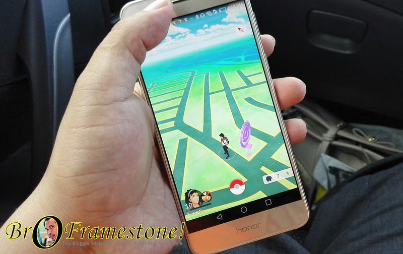 Main Pokemon Go di Honor 8