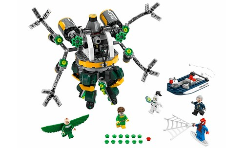 LEGO Marvel Super Heroes 76059 Spider-Man Doc Ock's Tentacle Trap 00