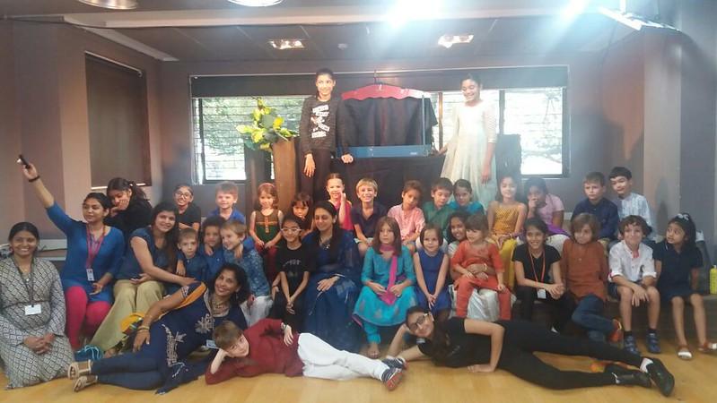 Navratri Celebration 2016 GS & CE2 Engl