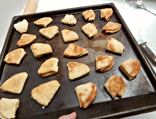 Творожное печенье с сахаром и корицей, пошаговый фоторецепт | horoshogromko.ru