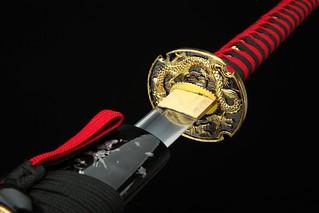 handmade-platinum-quality-japanese-samurai-sword-katana-red-handle-gold-dragon-blade