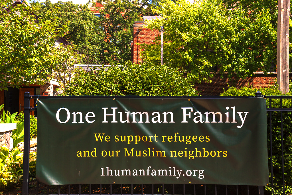 One Human Family We support refugees and our Muslim neighbors--Ann Arbor