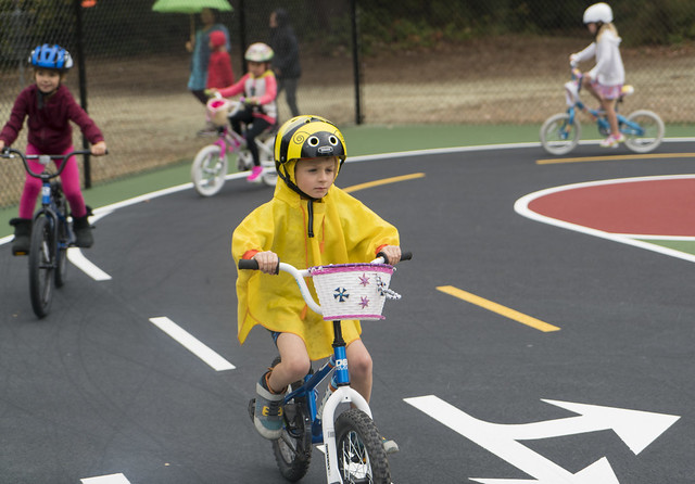 Grand Opening of Bicycle Playground at Dick Thurnau Park