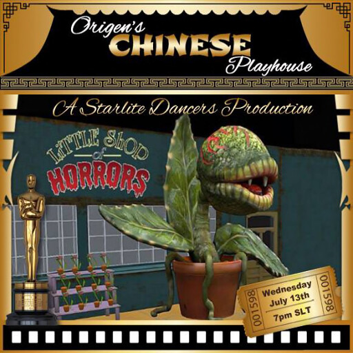 Little Shop of Horrors july 13th & 20