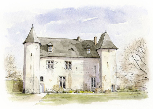 Manoir de la Roche Abilen, Saint Georges du Bois, Maine et Loire, France Flickr Photo Sharing! # La Roche Bleue Saint Bois