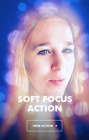 Soft Bokeh Photoshop Action