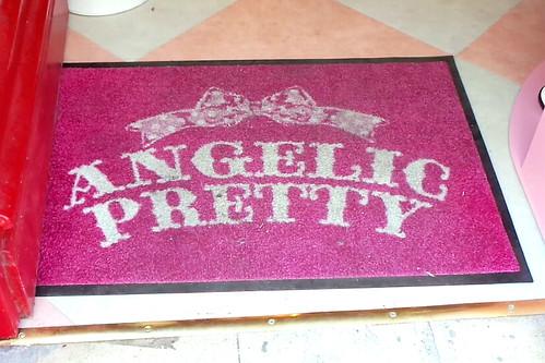 Angelic Pretty Doormat