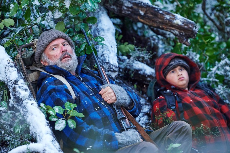 Sam Neill and Julian Dennison are the odd couple hunted in HUNT FOR THE WILDERPEOPLE.