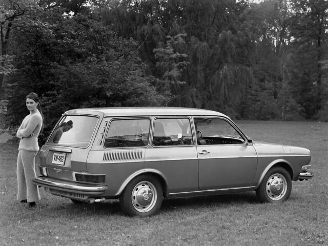 Трёхдверный универсал Volkswagen 411 Variant. 1968 – 1972 годы