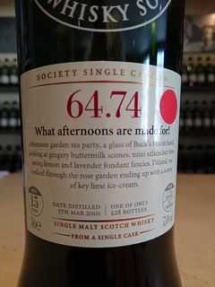 SMWS 64.74 - What afternoons are made for!