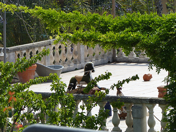 une terrasse à Bordighera