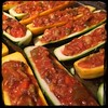 #Stuffed #Zucchini #Bolognese #Homemade #CucinaDelloZio - fill with mixture