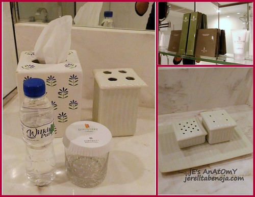 discovery suites toiletries