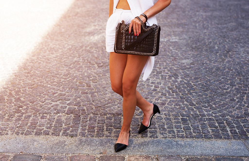 fashion week ilirida heels white