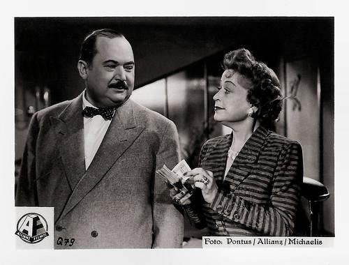 Oskar Sima and Grete Weise in Die Verschleierte Maja (1951)