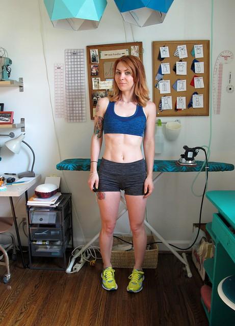 Sewaholic Pacific Shorts + Dunbar Sports Bra