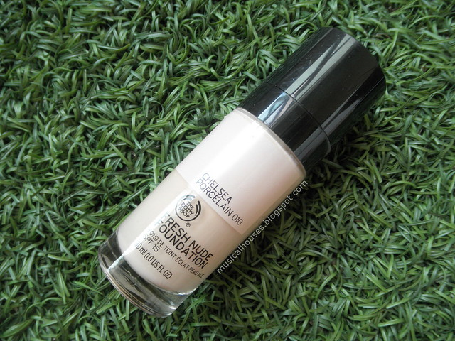 The Body Shop Fresh Nude Foundation Review 10 Chelsea Porcelain