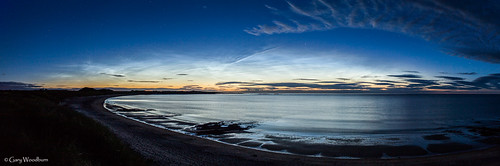 A Noctilucent Night - Embleton Bay, Northumberland