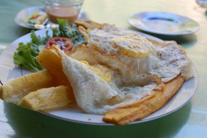 Lunch in Kimiri, near La Merced, Chanchamayo, Junín, Peru