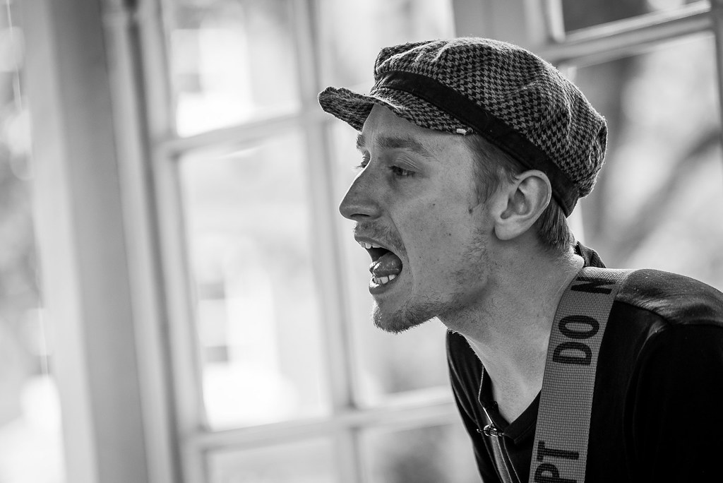 Bandstand Busking: Daniel Glover