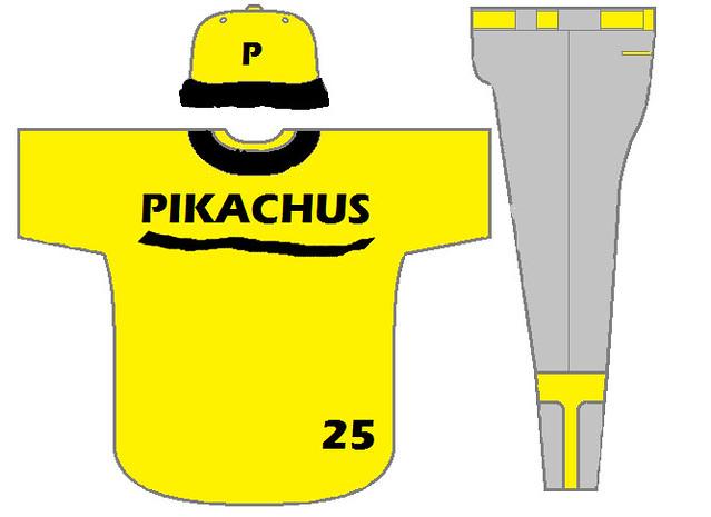 Philly Pikachu unis