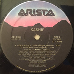 KASIF:LOVE ME ALL OVER(LABEL SIDE-B)