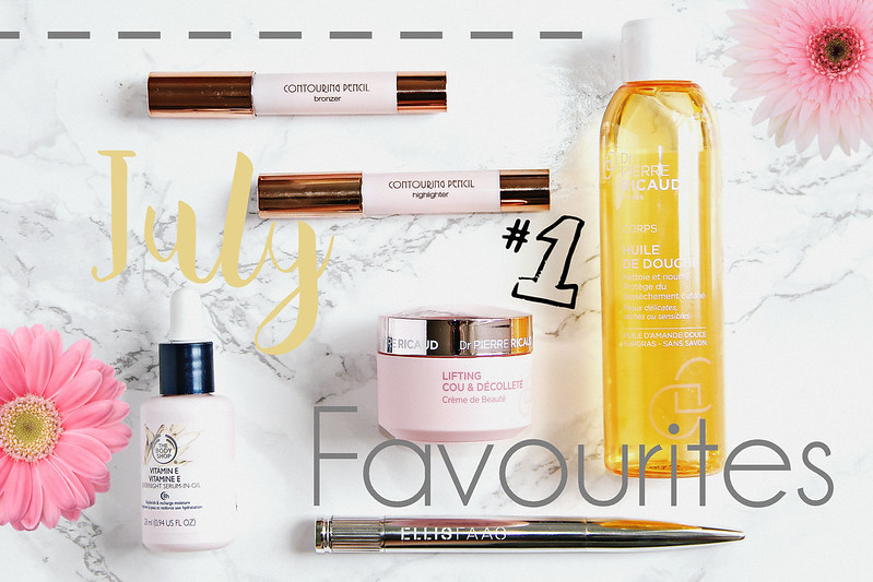 July Beauty Favourites ft. Ellis Faas, Dr. Pierre Ricaud, The Body Shop, Kiko Milano I Style By Charlotte ModeBlog BeautyBlog