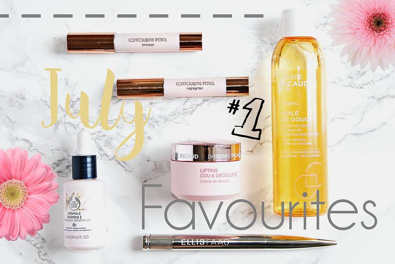 July Beauty Favourites ft. Ellis Faas, Dr. Pierre Ricaud, The Body Shop, Kiko Milano
