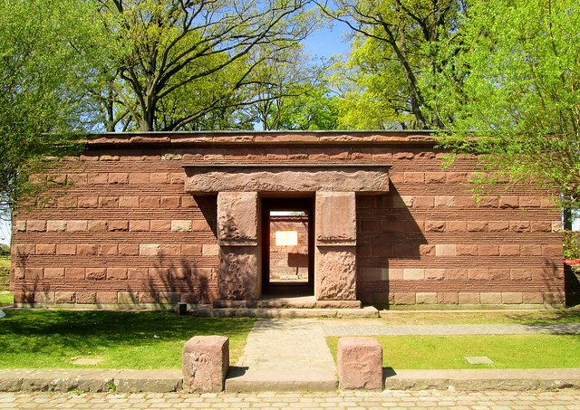 Langemark War Cemetery Entrance