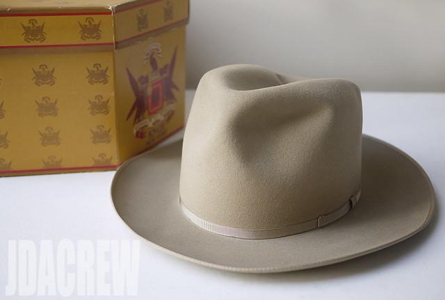 knoxヴィンテージフェドラハット50年代ファッション