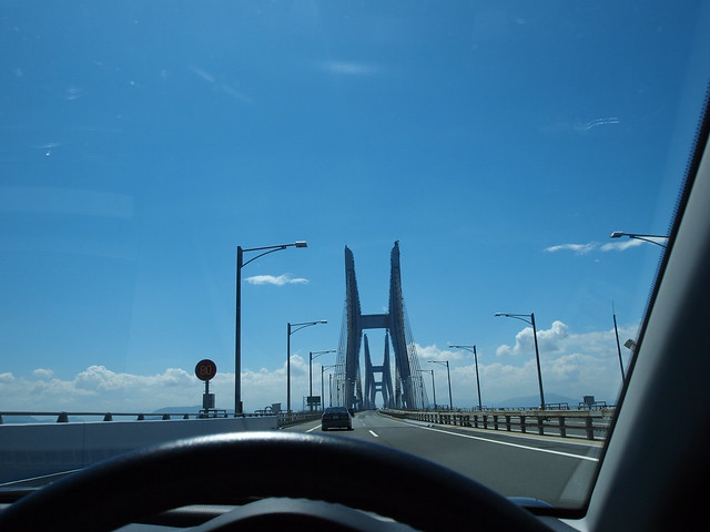 The Seto Ohashi Bridge �����綶