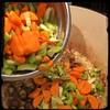 #BlackBean #Callaloo #Soup #Salad #Homemade #CucinaDelloZio - carrots celery