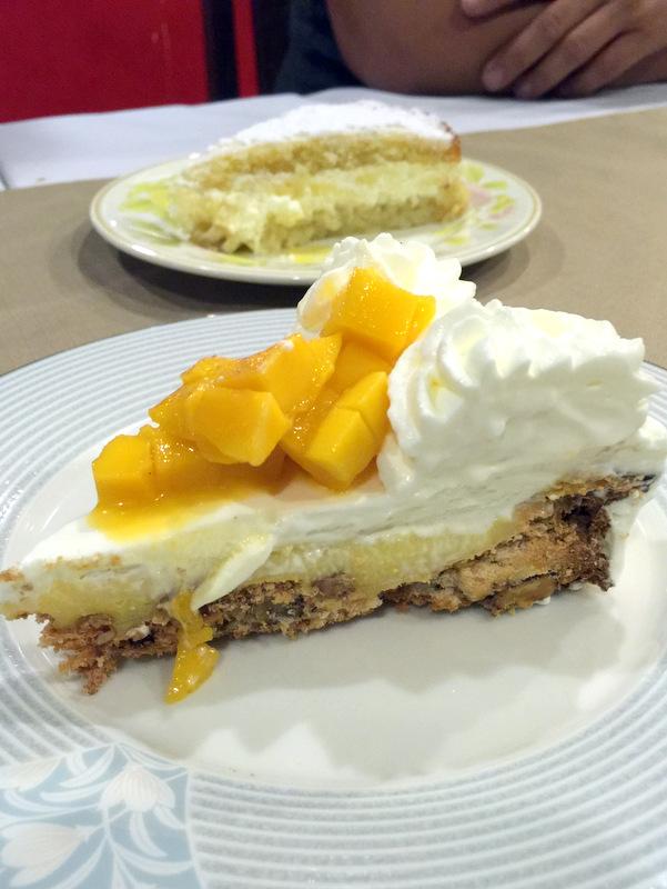 Mateo's Restaurant Cafe- Mango Yema Torte P175