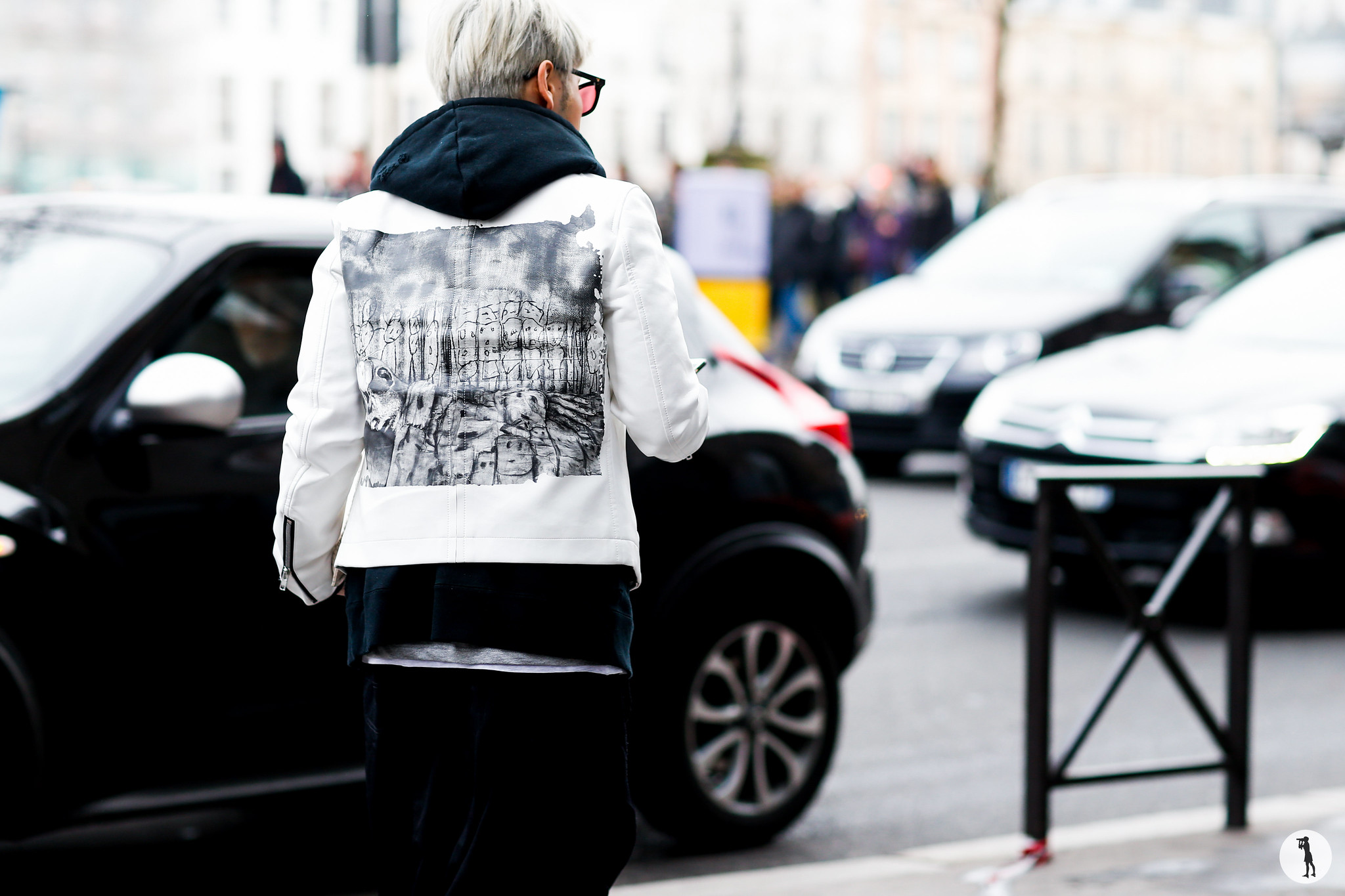 Street style at Paris Fashion Week Menswear 3