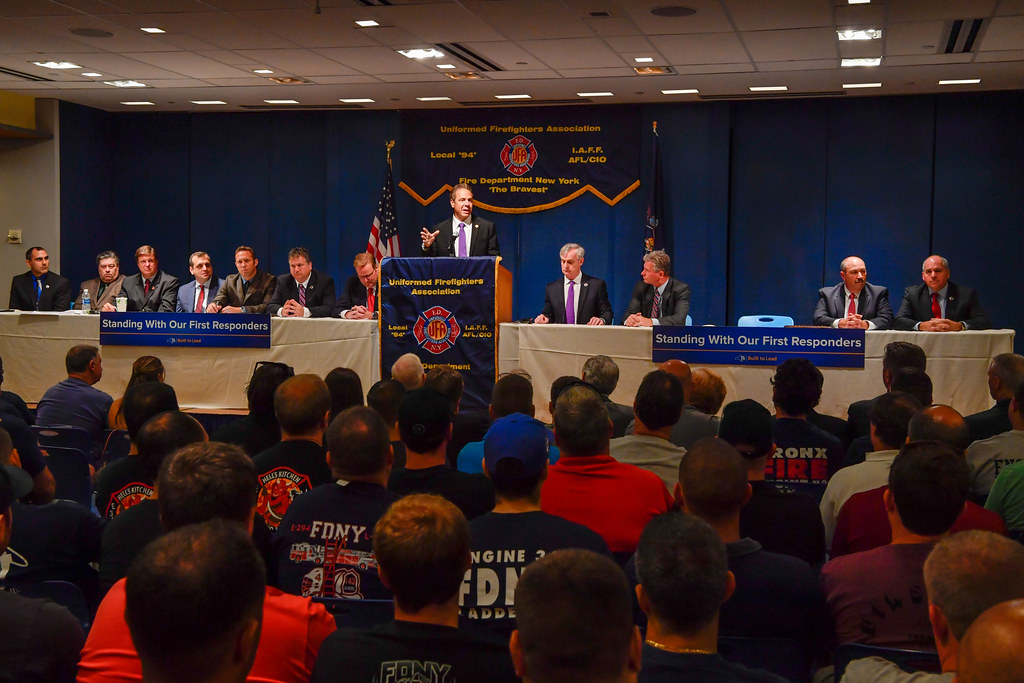 Governor Cuomo Signs Legislation to Enhance Disability Retirement Benefits for NYC Firefighters