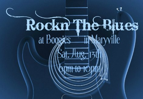 Rockn The Blues 8-13-16