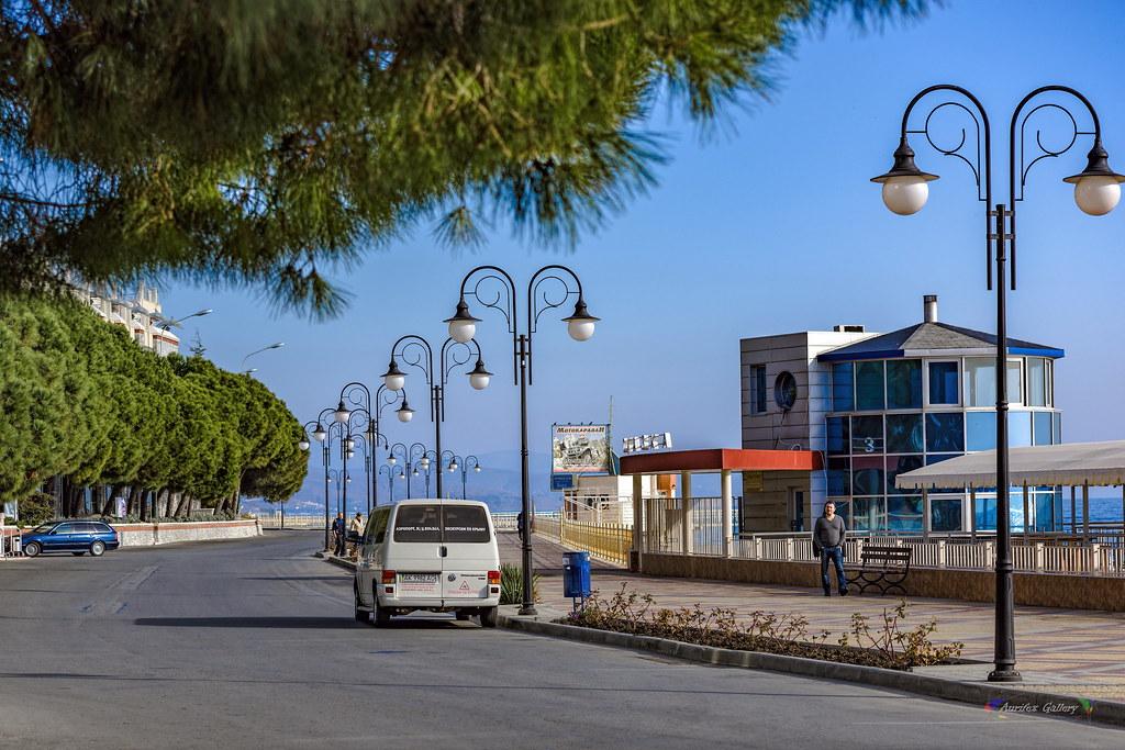 "The ""velvet"" season on the crimean beach"