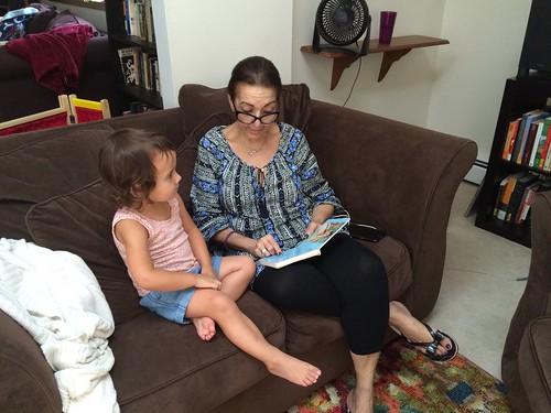 Nana Visits- August 2016