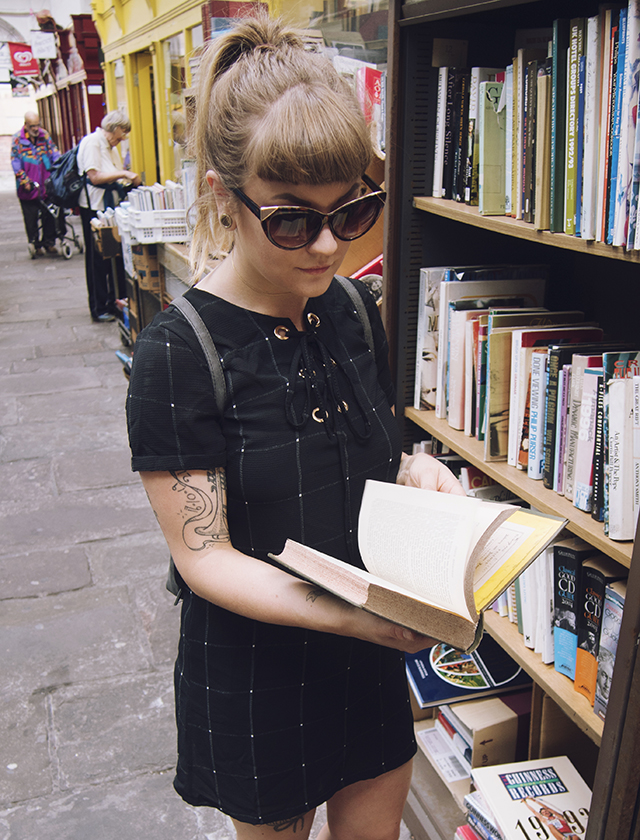 being little: bristol city guide - st nicks market boohoo dress topshop sunglasses