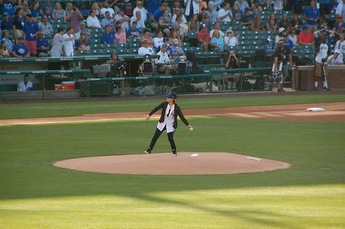 Joan Jett ceremonial first pitch