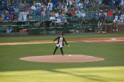 Joan Jett ceremonial first pitch