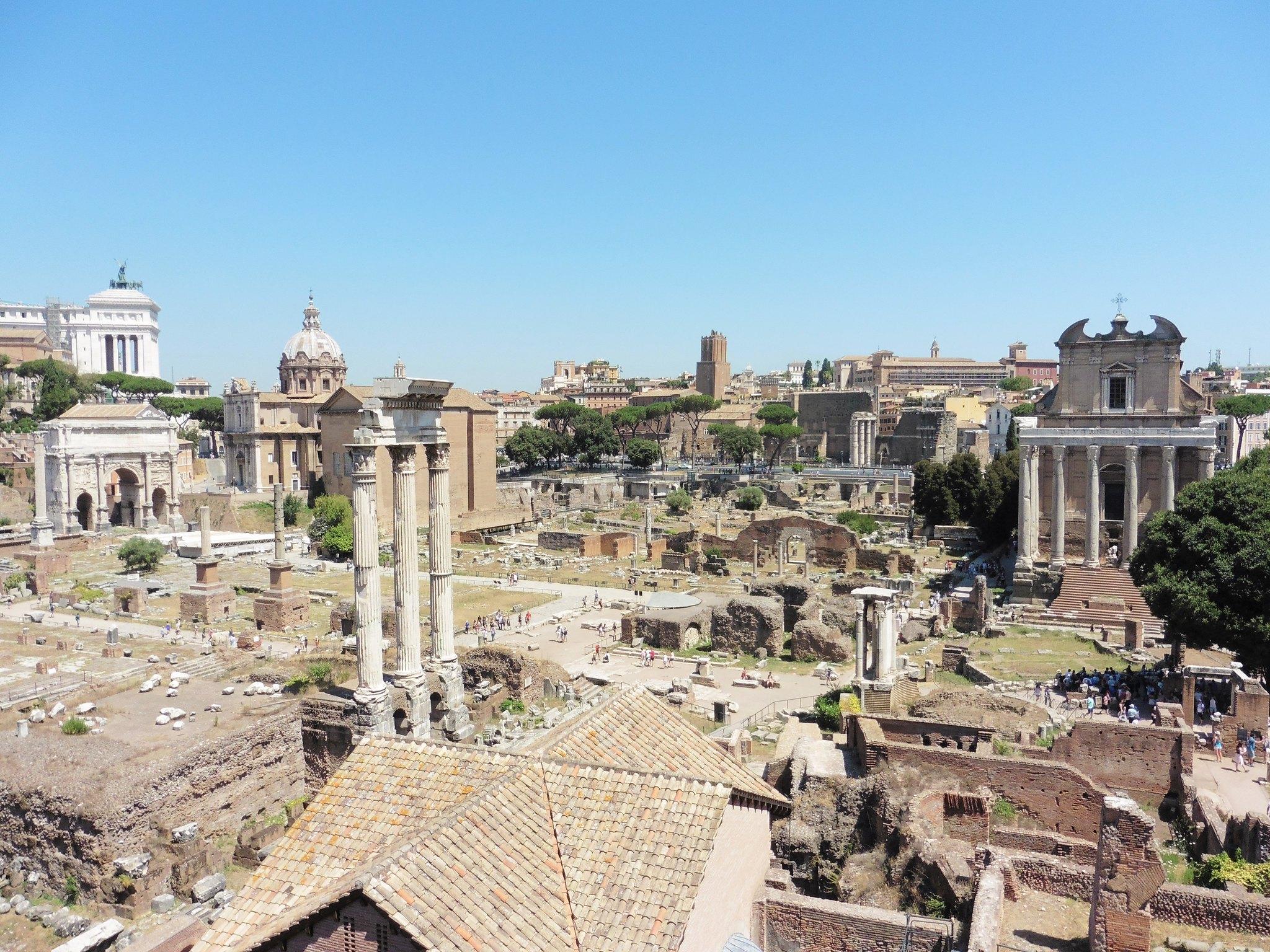 View of Roman Forum